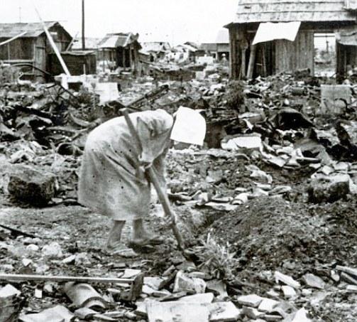 Hiroshima 1945 aftermath