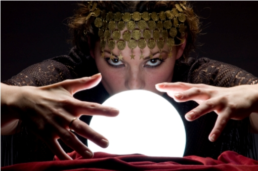 Crystal ball astrologist