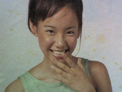 A very young Fiona Xie