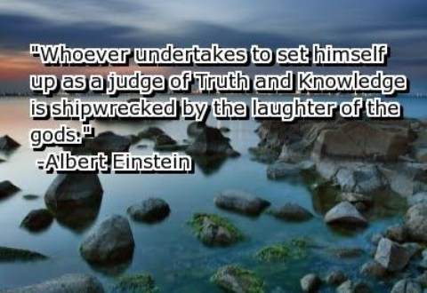 Wise words from Albert Einstein