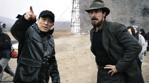Zhang Yimou with American actor Christian Bale