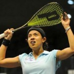 Nicol David - the first Women's International Squash Players Association (Wispa) player to win six world titles
