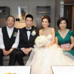 Alvin Lai and Ella Chen With The Family.