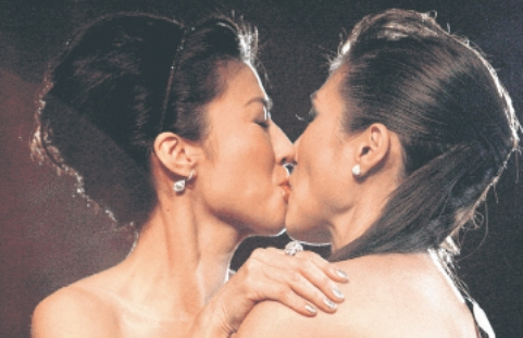 The kiss that sparked a furore in Singapore