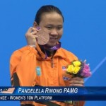 Pandelela Rinong Wins Olympic Bronze Medal in Olympic 2012