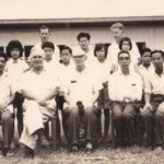 Father Warganer is the second from the left in the front row and Father Smith is the last person from the left in the last row.