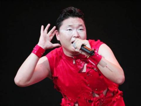 Park Jae-Sang better known as PSY