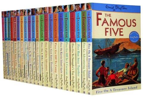 Enid Blyton's Famous Five Books