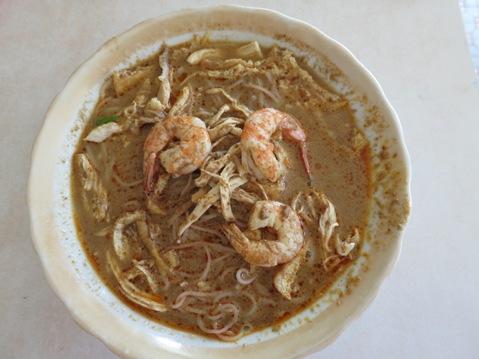 The Kuching laksa