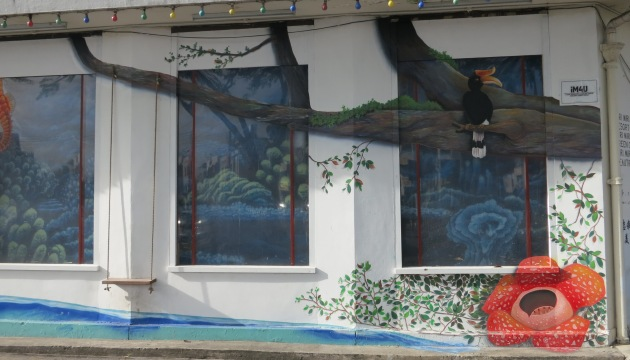 Art expressions at Miri Handicraft Centre