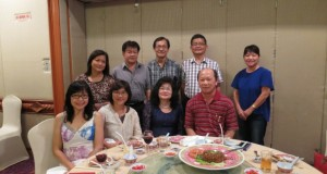 Me with my ex-colleagues and Dato Vincent Yeo & Datin Ting