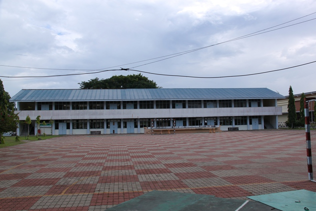 One of the old academic blocks