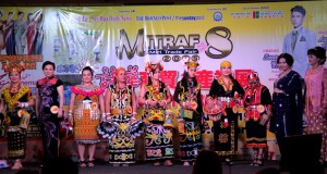 The 10 finalists of the Sarawak Traditional Clothing & Talent Show