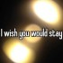 I wish you would stay