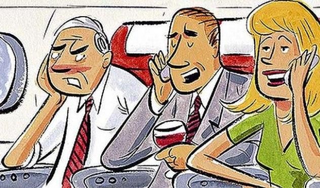 Flying etiquette