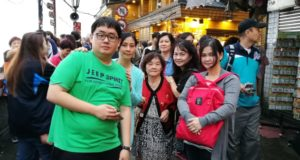 Group photo at Jiufen