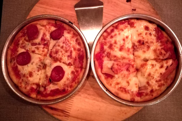 Our pizzas