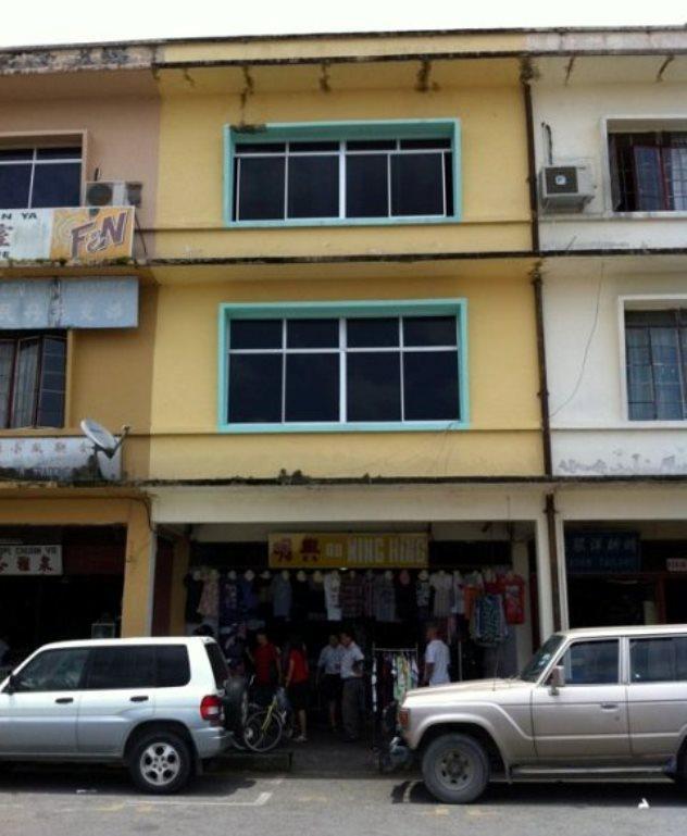My dad's shophouse in Binatang