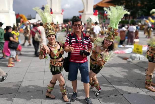 Me having fun in Taiwan