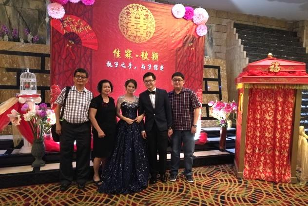 Taken at the wedding of Carissa T'en and Jia Lim