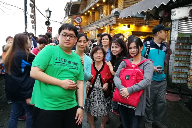 In Jiufen Taiwan