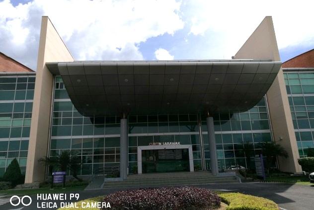 Curtin University admin building