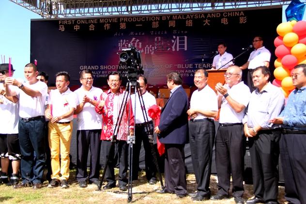 Sarawak deputy Chief Minister Datuk Amar Abang Johari Openg officiated the ceremony