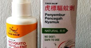 The Tiger Balm repellent that works well for me