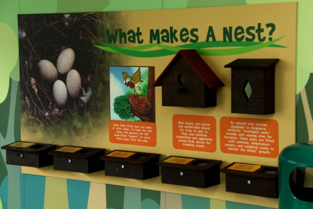 Breeding & Research Centre display