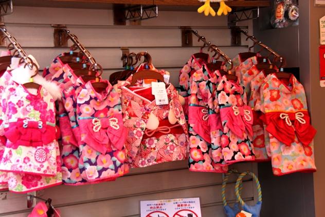 Cute kimono for little girls
