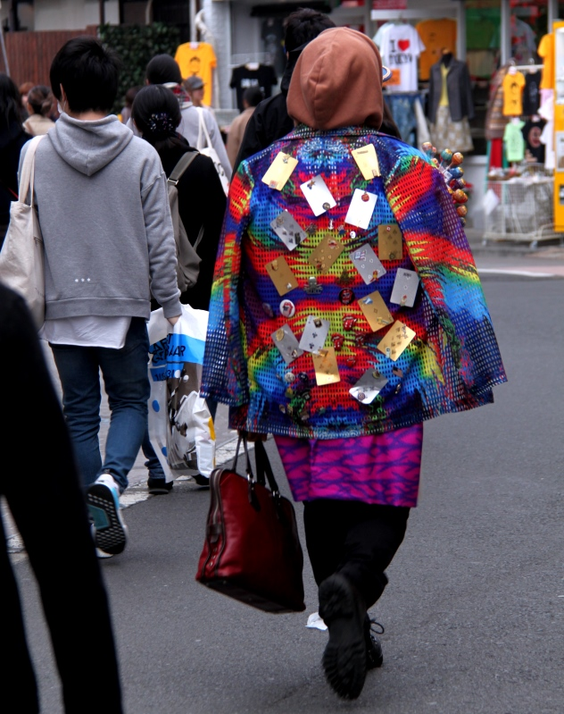 A Japanese man dressed in his kawaii style