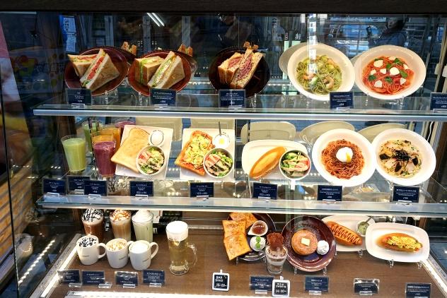 Cute restaurant window display