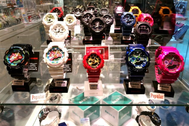 Cute G-Shock watches