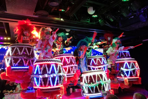 The taiko drummers