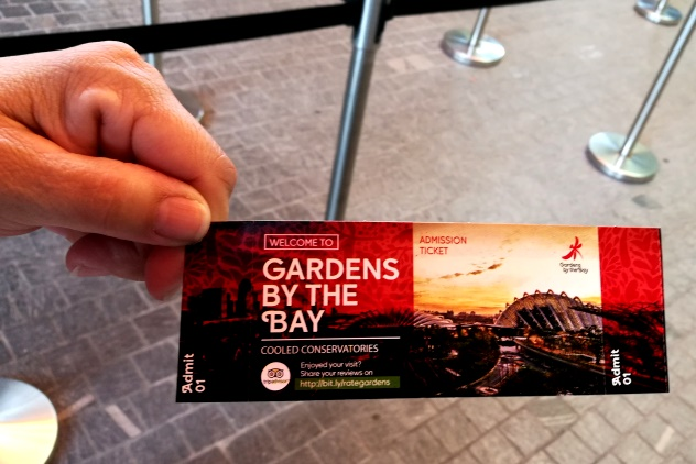 The entrance ticket
