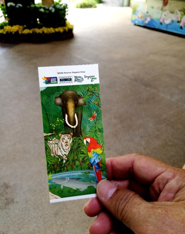 My entrance ticket