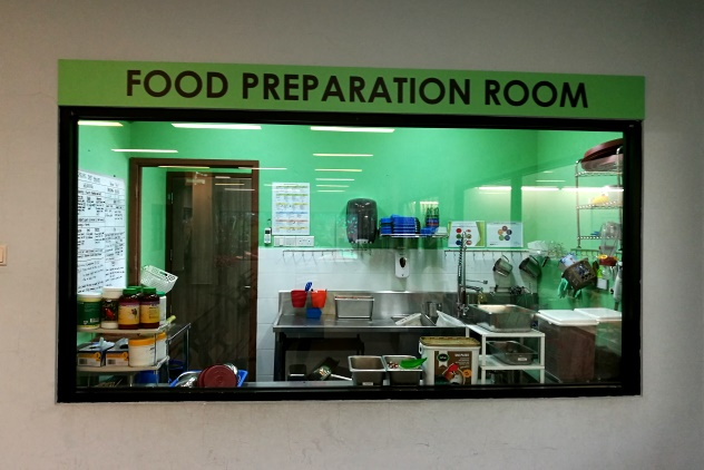 Food preparation room