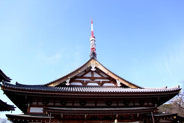 Roof of Ankokuden