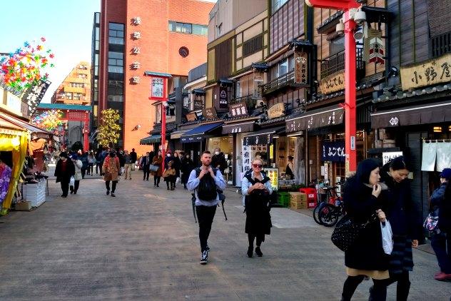 Asakusa street scene