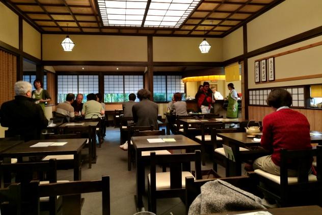 Inside Kanda Yabusoba