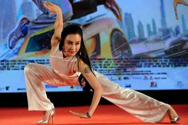 Kungfu Yoga Publicity Performance