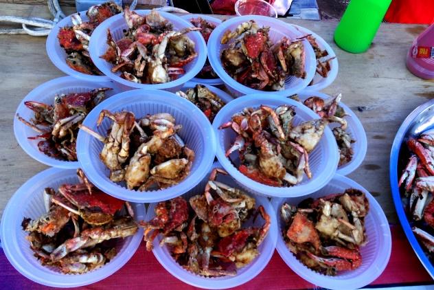 Crispy crabs