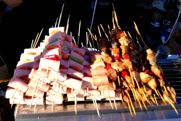 Taiwan bacon rolls