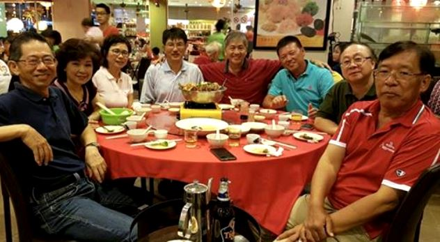 A gathering of college mates in KL earlier this year