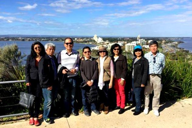 Mini reunion in Perth