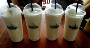 Our four smoothies