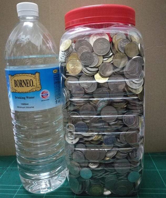 Saving dime by dime